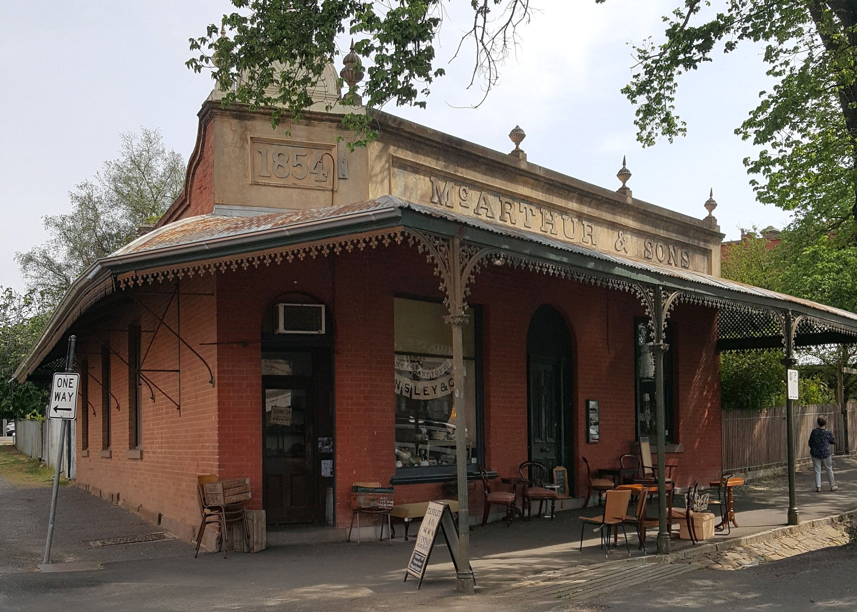 Tansley  Co Vintage Merchants - Accommodation Adelaide