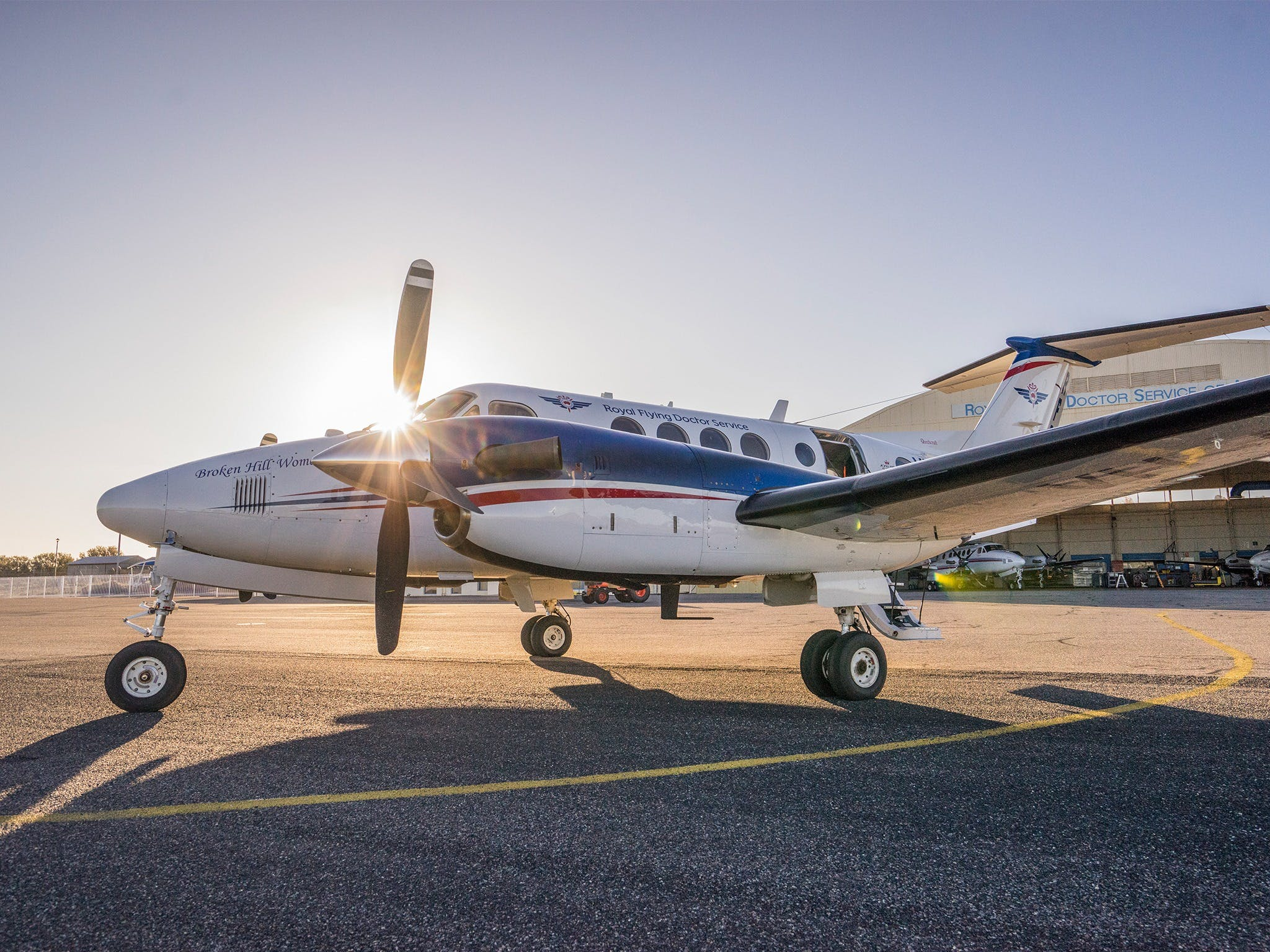 The Royal Flying Doctor Service Outback Experience in Broken Hill - Accommodation Adelaide