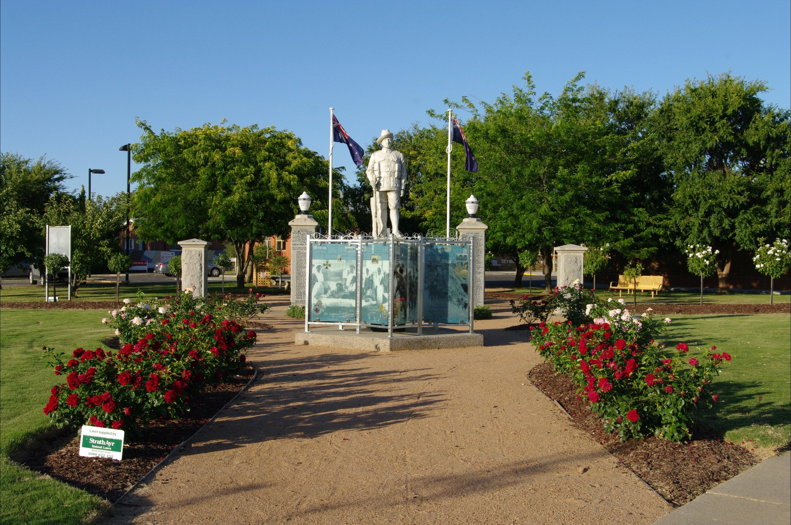 WW1 Memorial Park - Accommodation Adelaide