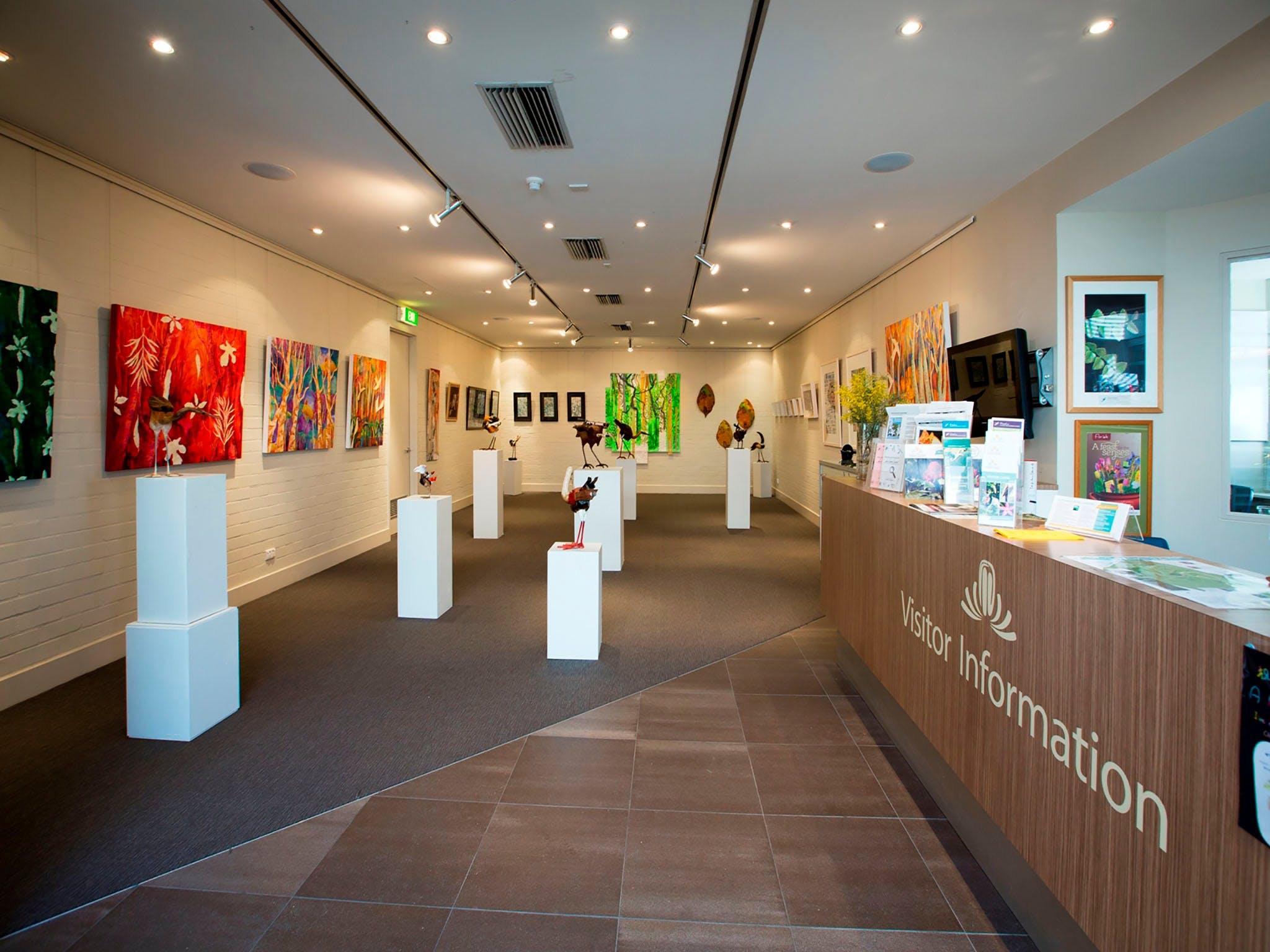 Australian National Botanic Gardens Visitor Centre Gallery - Accommodation Adelaide