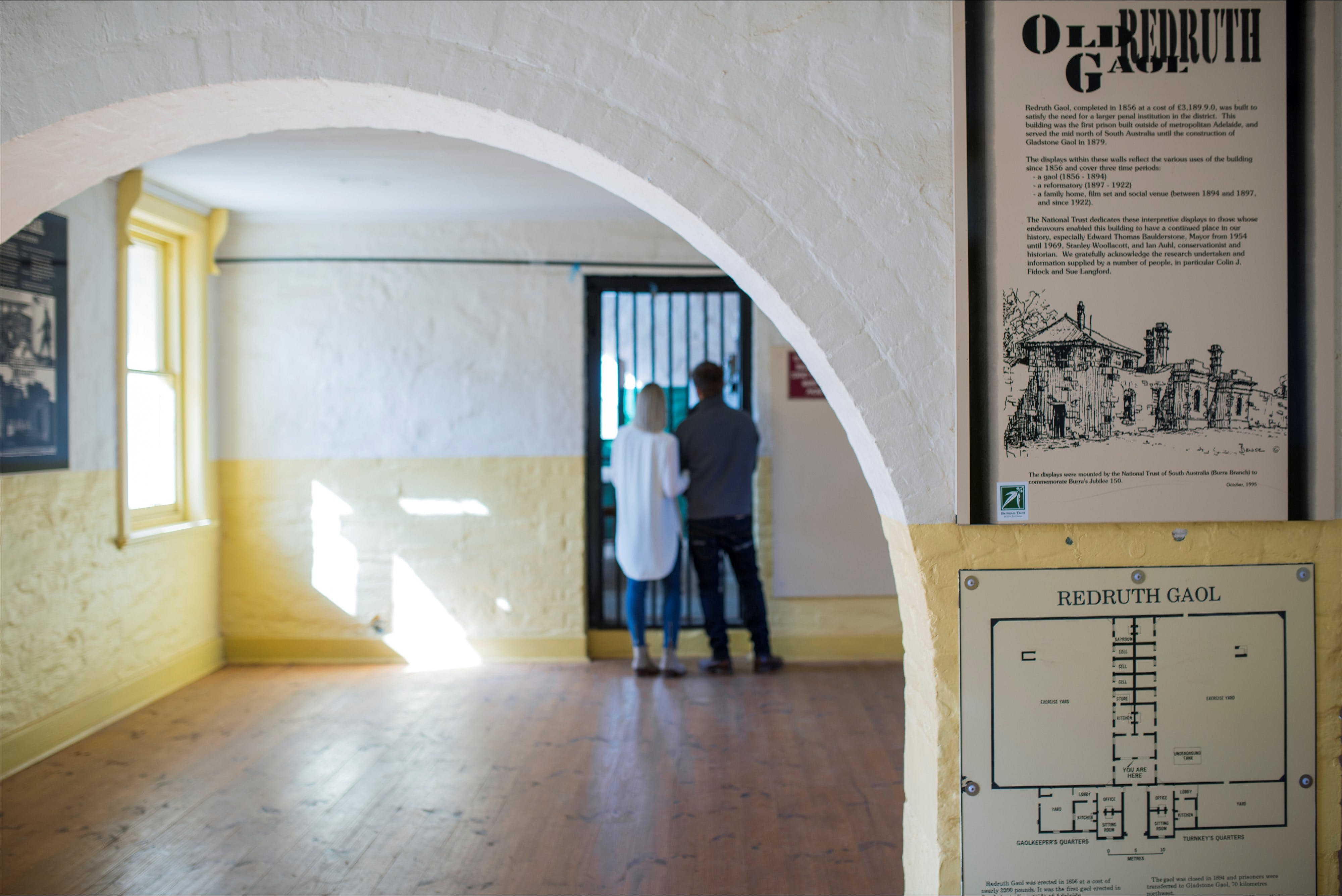 Redruth Gaol - Accommodation Adelaide