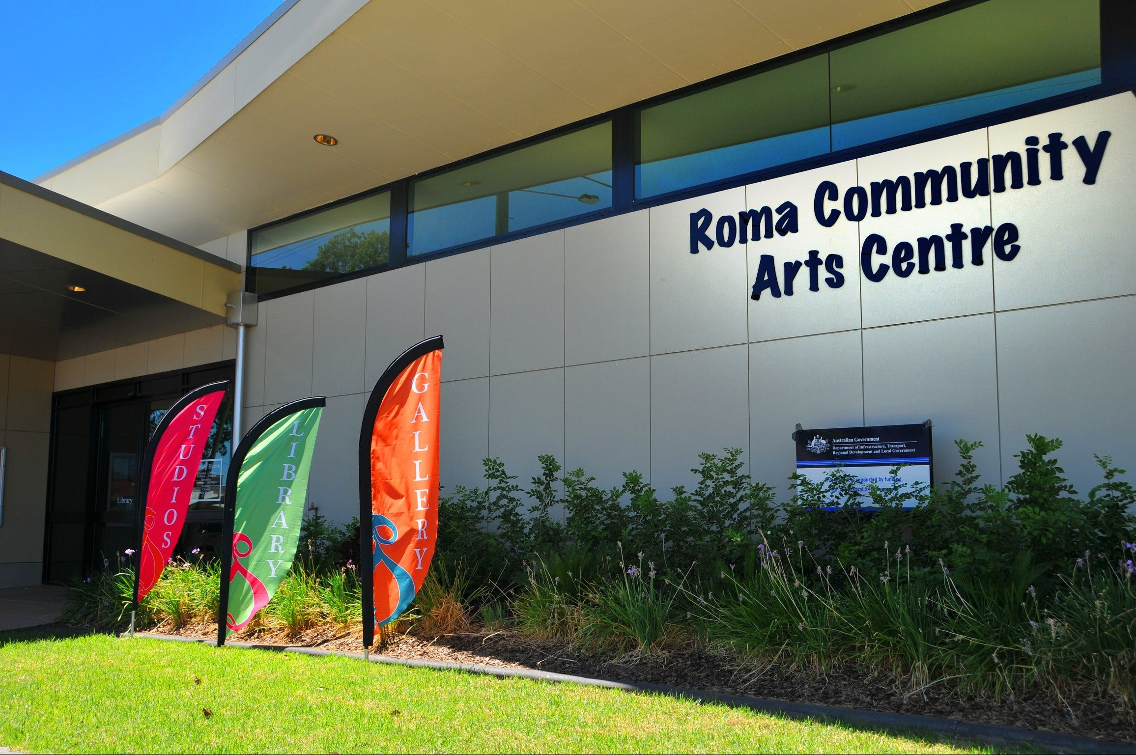 Roma on Bungil Art Gallery and the Walk of Art - Accommodation Adelaide