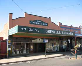 Grenfell Art Gallery - Accommodation Adelaide