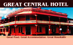 Great Central Hotel - Accommodation Adelaide