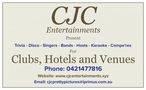 CJC Entertainments - Accommodation Adelaide