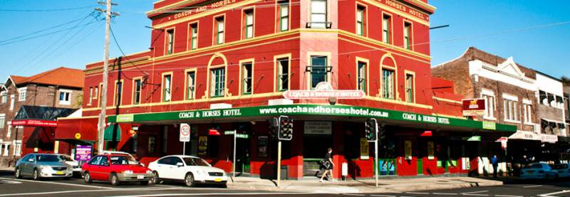 The Coach  Horses Hotel - Accommodation Adelaide