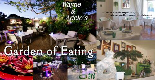 Garden of Eating BYO Restaurant - Accommodation Adelaide