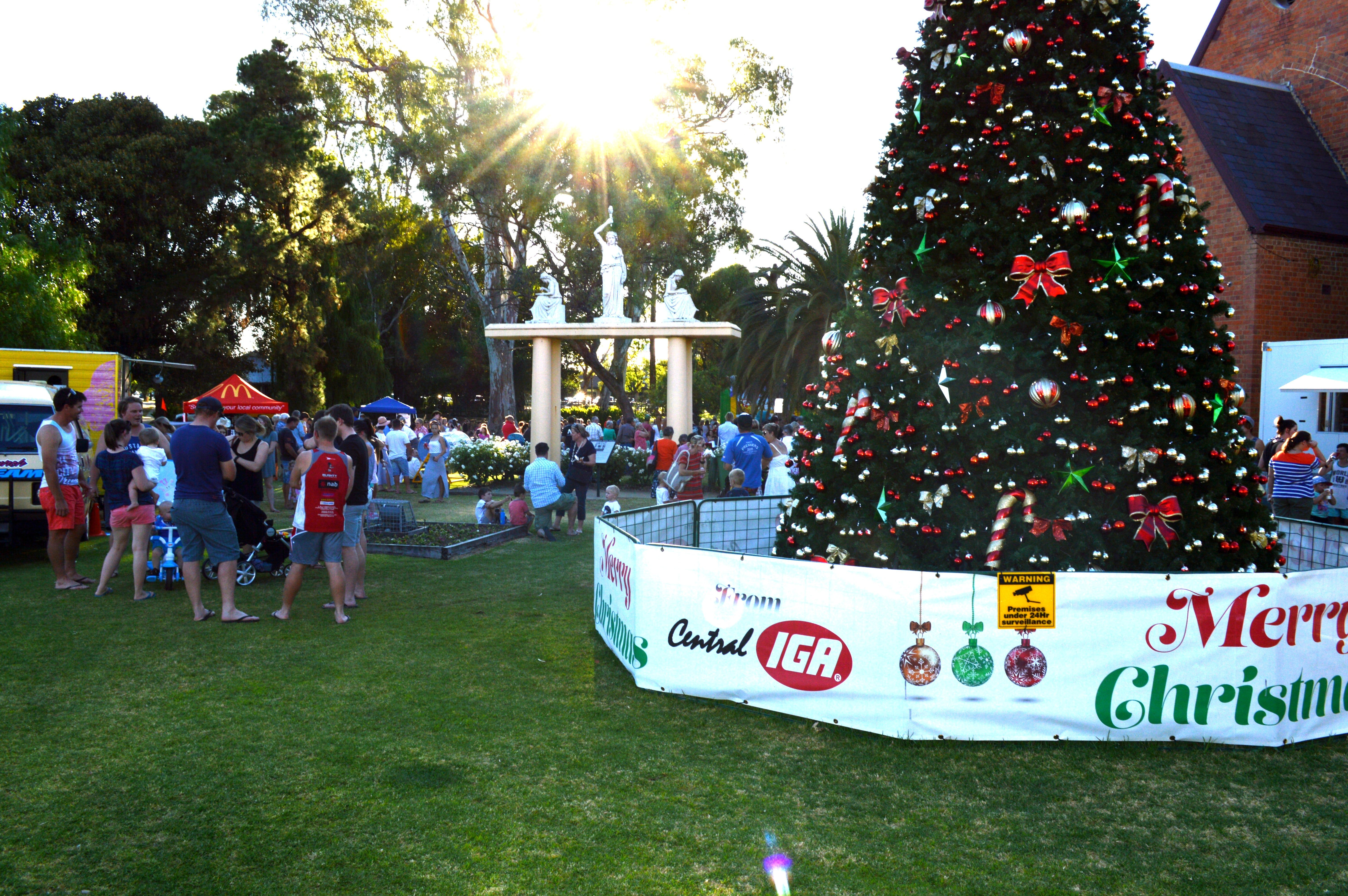 Community Christmas Party and Carols by Candlelight - Accommodation Adelaide
