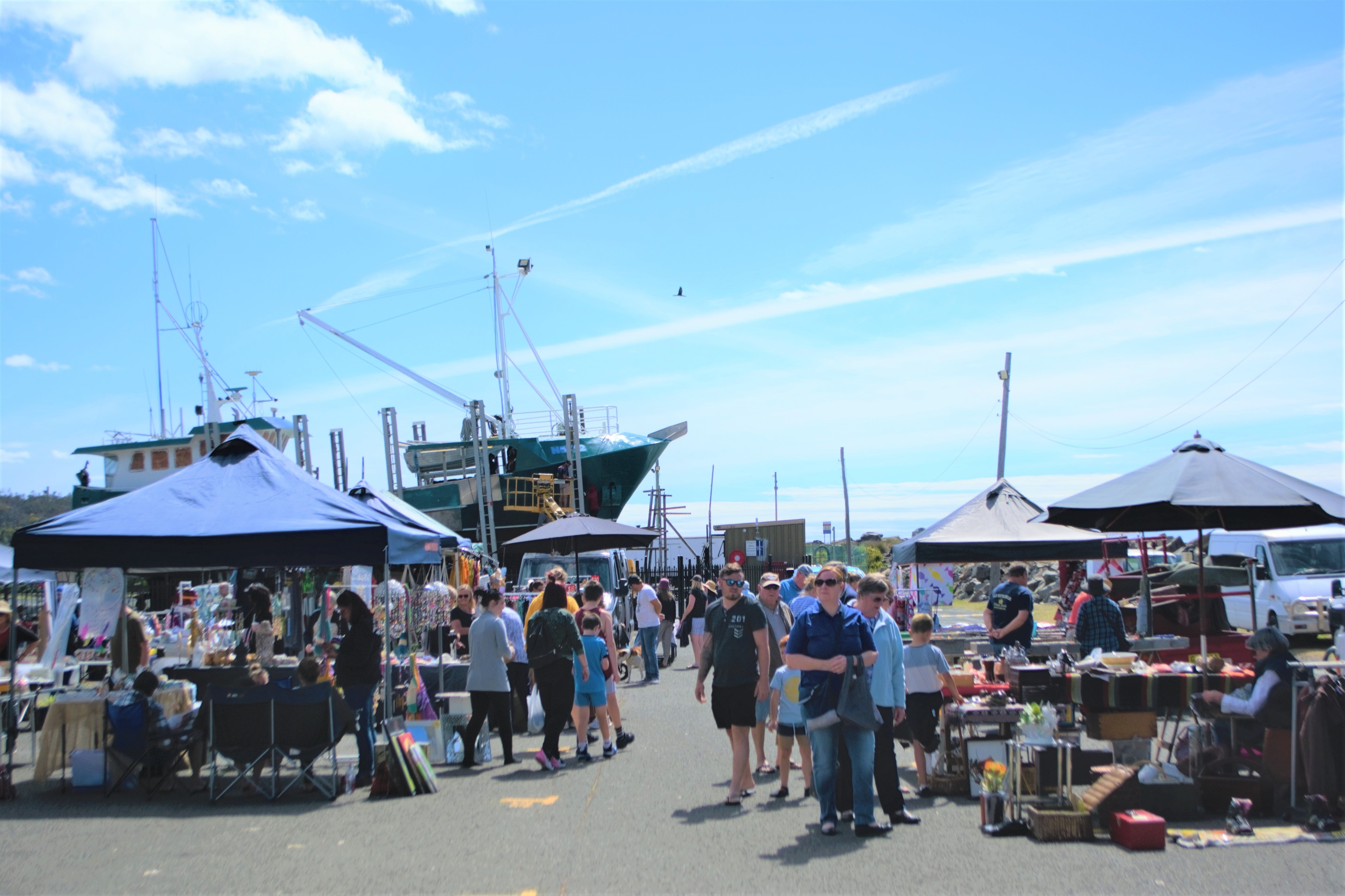 Marine Rescue Ulladulla Wharf Markets - Accommodation Adelaide