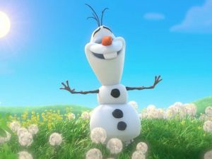 Meet Olaf from Frozen - Accommodation Adelaide