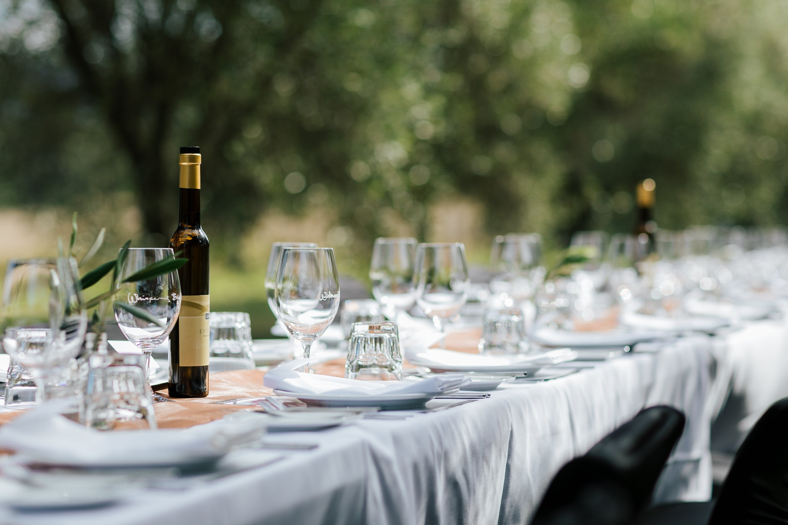 Whispering Brook Olive Long Table Luncheon - Accommodation Adelaide