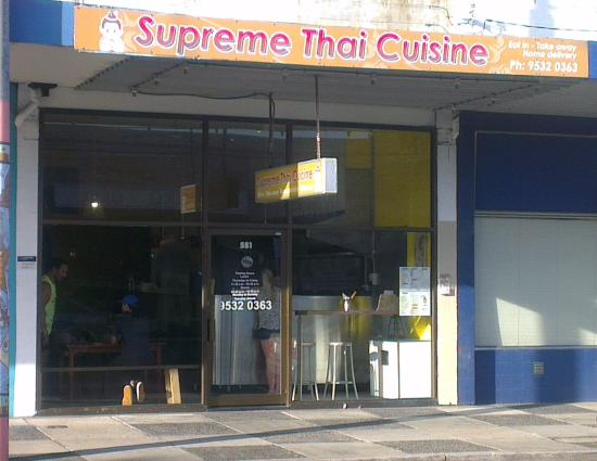 Supreme Thai - Accommodation Adelaide