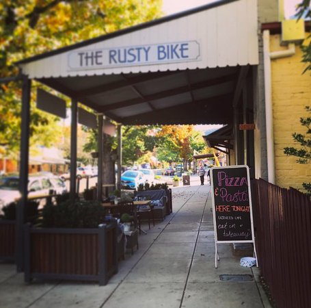 The Rusty Bike Cafe - Accommodation Adelaide