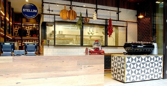 Stellini Pasta Bar - Accommodation Adelaide