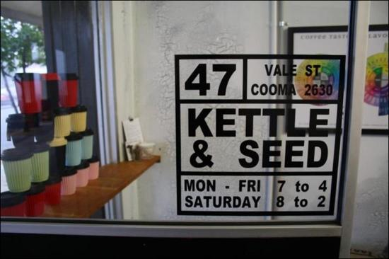 Kettle  Seed Cafe and Coffee Roaster - Accommodation Adelaide