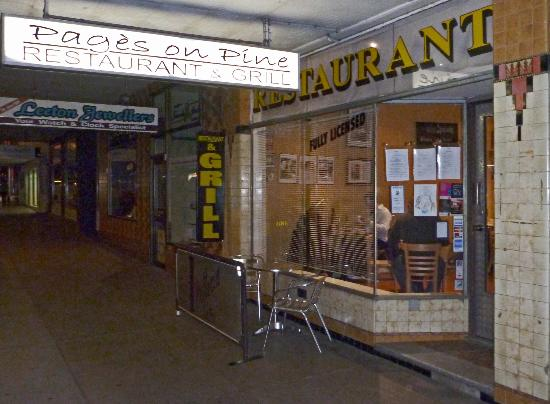 Pages on Pine Restaurant - Accommodation Adelaide