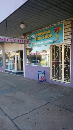 The Popular Fish Shop - Accommodation Adelaide