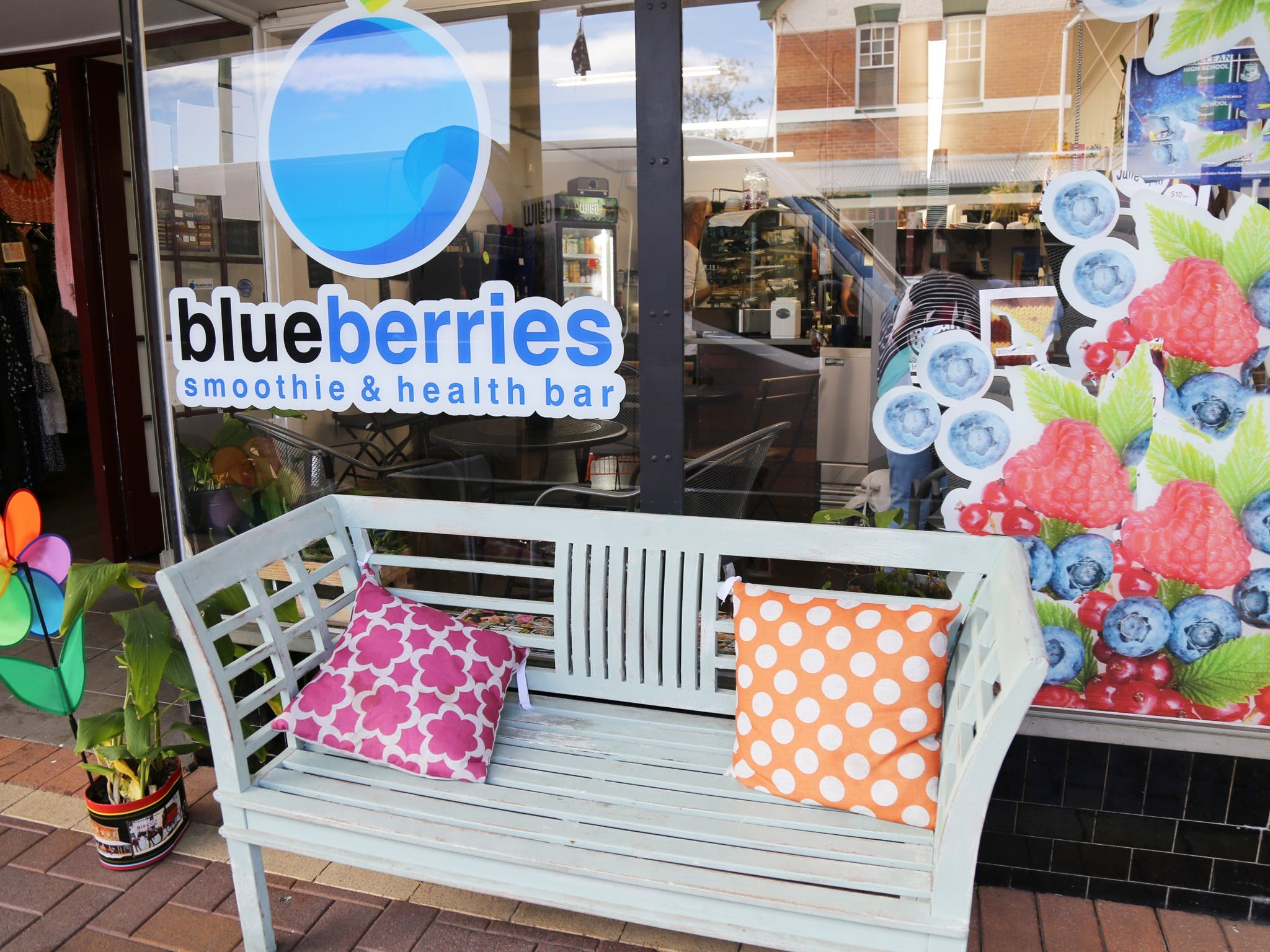 Blueberries Smoothie and Health Bar - Accommodation Adelaide