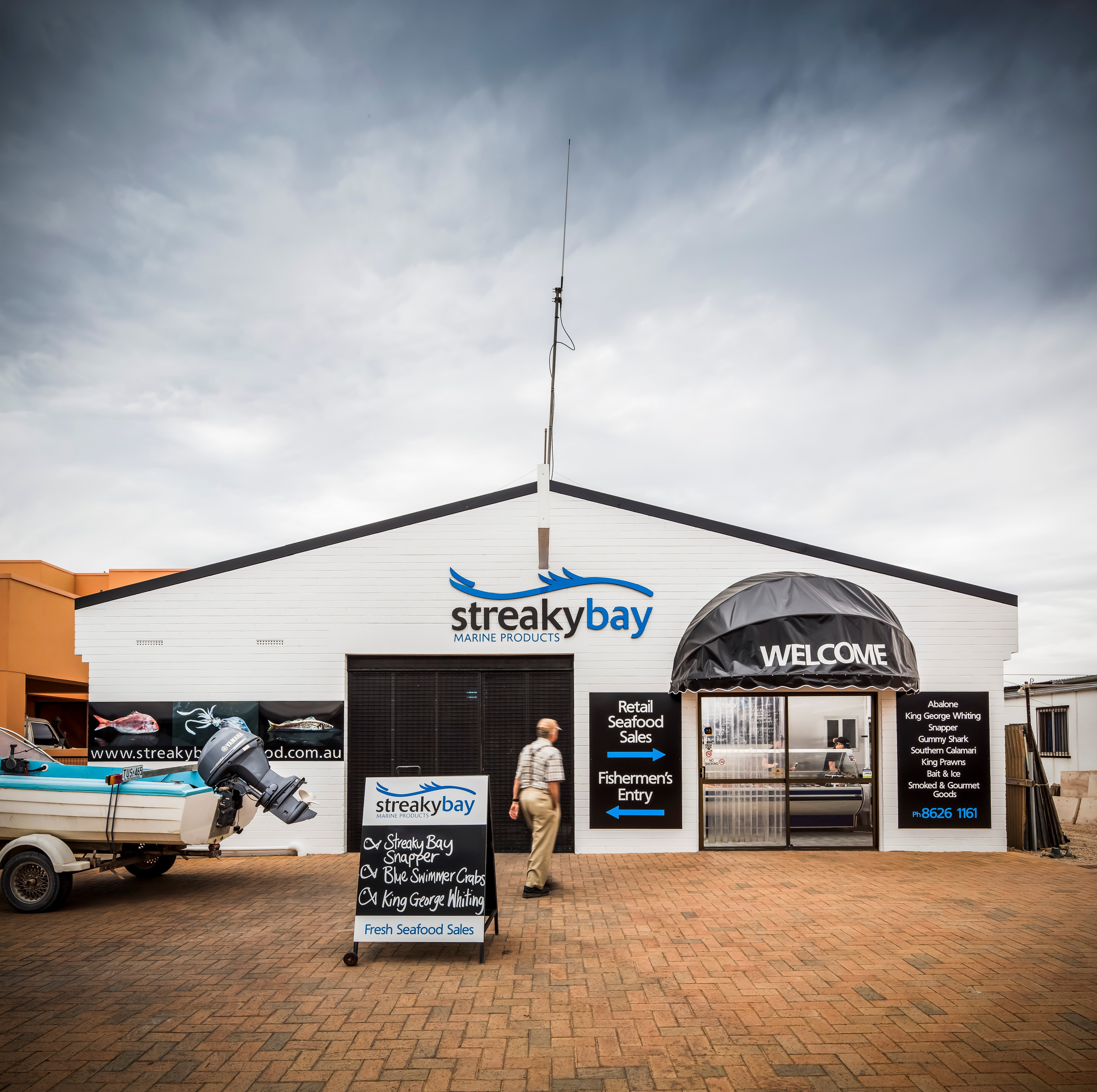 Streaky Bay Marine Products - Accommodation Adelaide