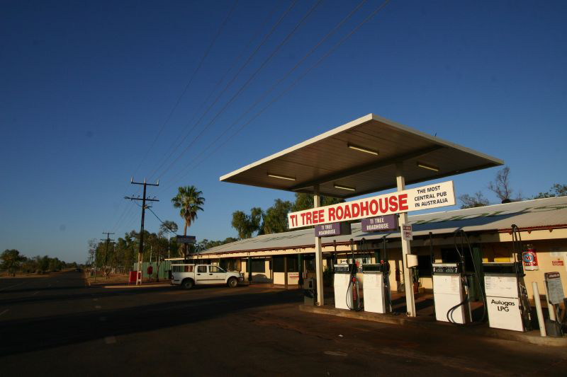 Ti Tree Roadhouse - Accommodation Adelaide