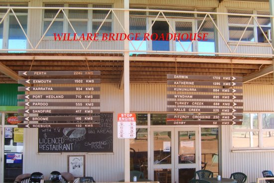 Willare Bridge Roadhouse - Accommodation Adelaide
