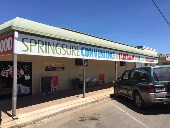 Springsure Convenience  Takeaway - Accommodation Adelaide
