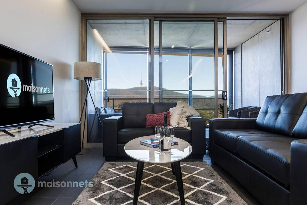 1 Bedroom Apt With Parking Walk to ANU - Accommodation Adelaide
